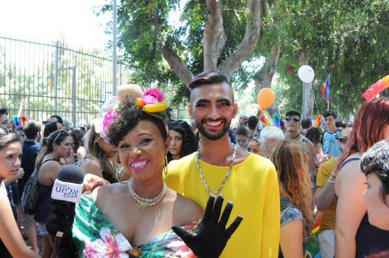 Elisete covers the Gay pride parade in TLV